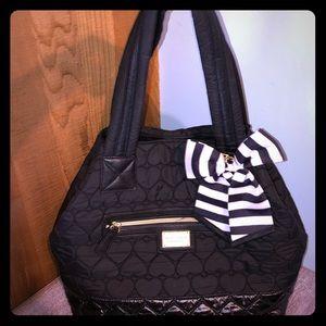 Black Hearts Betsey Bag